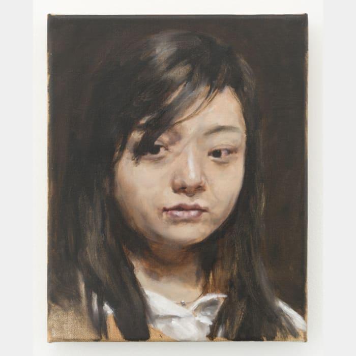 Chinese woman by Michaël Borremans