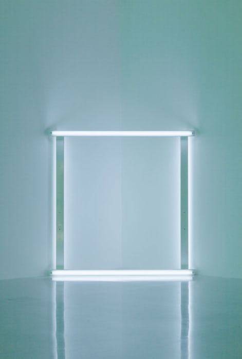 Untitled (to Barbara and Joost) by Dan Flavin