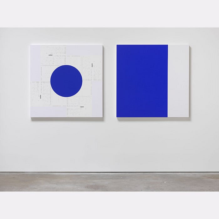 Untitled (color) by Michael Riedel