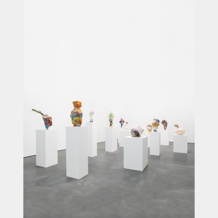 Untitled (10 Sculptures) by Franz West