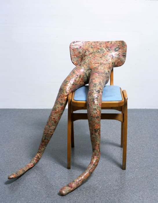 Hysterical Attack [Mouths] by Sarah Lucas