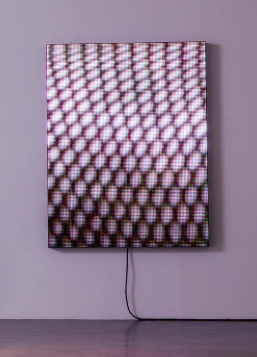 LED (Stocking) by Mark Leckey