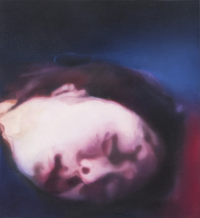 Untitled (Head Blue and Red) by Johannes Kahrs