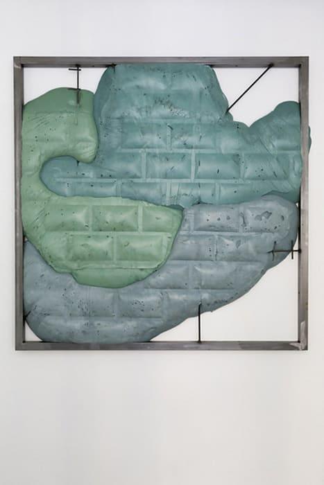 Secured wall by Neïl Beloufa