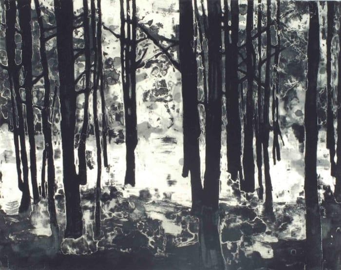 Landscape III (Bright Forest) by Matt Saunders