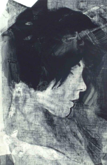 Annie Sleeping (Menschen am Sonntag) #1 by Matt Saunders