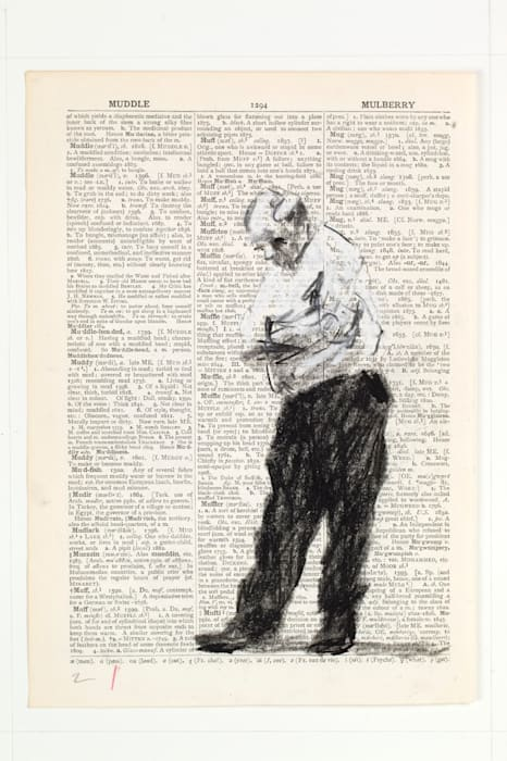 Second-hand Reading by William Kentridge