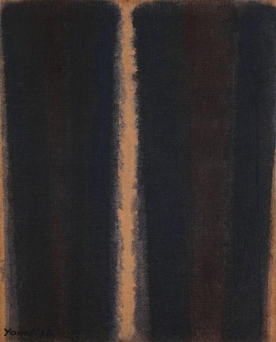 Burnt Umber & Ultramarine by Yun Hyong-keun