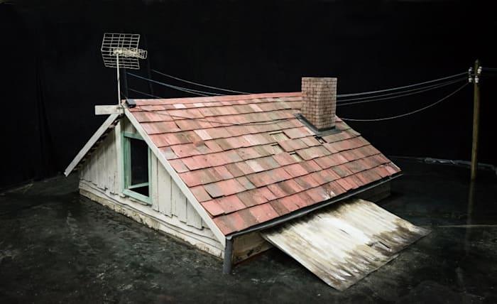 Prop, Flood, Roof by Rinus Van de Velde