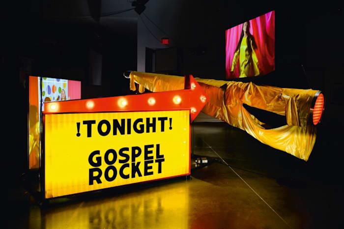 Gospel Rocket by Mike Kelley