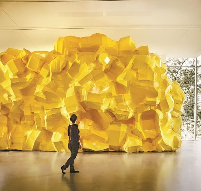 Yellow Structure by Richard Maloy