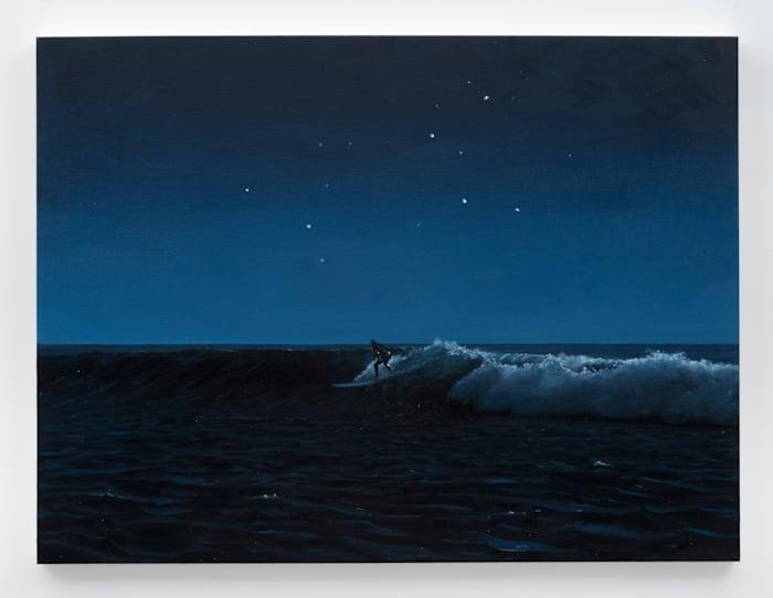 Surfer and Leo by Tim Gardner