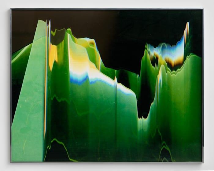 Green Graph by Eileen Quinlan
