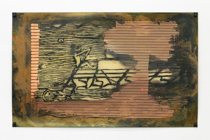 Untitled (Weak Local Lineament) by Sam Lewitt