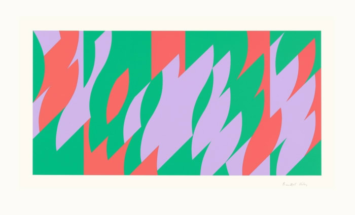 About Lilac by Bridget Riley