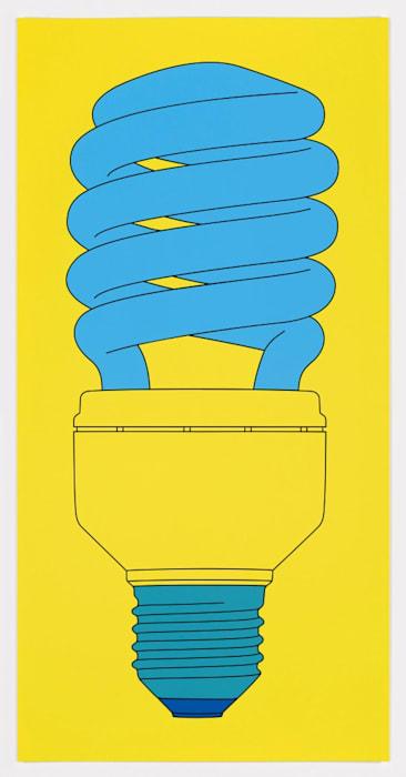 Bulb by Michael Craig-Martin