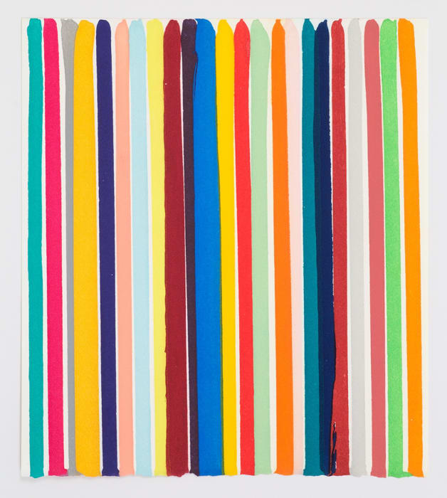 Chromology Etching by Ian Davenport