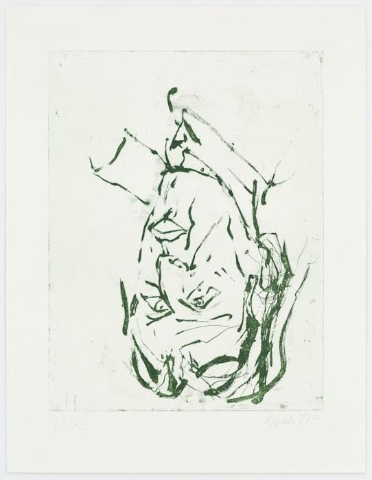 Clyfford Still by Georg Baselitz