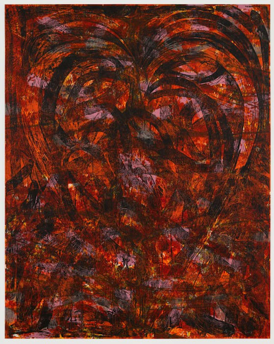 Darkness in the Laughter by Jim Dine