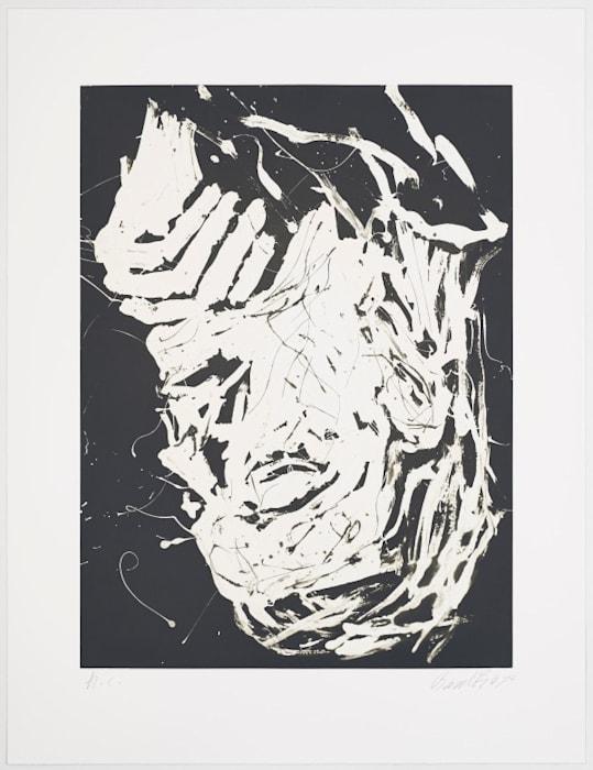 Elke III by Georg Baselitz