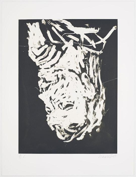 Elke I by Georg Baselitz