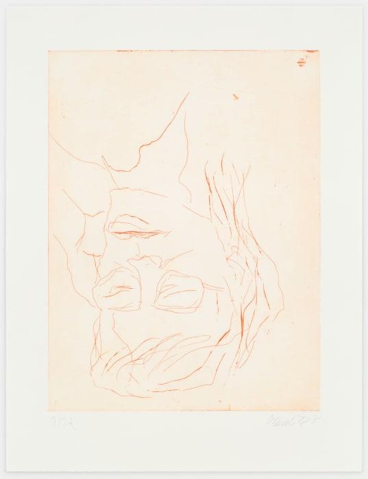 Joan Mitchell II by Georg Baselitz