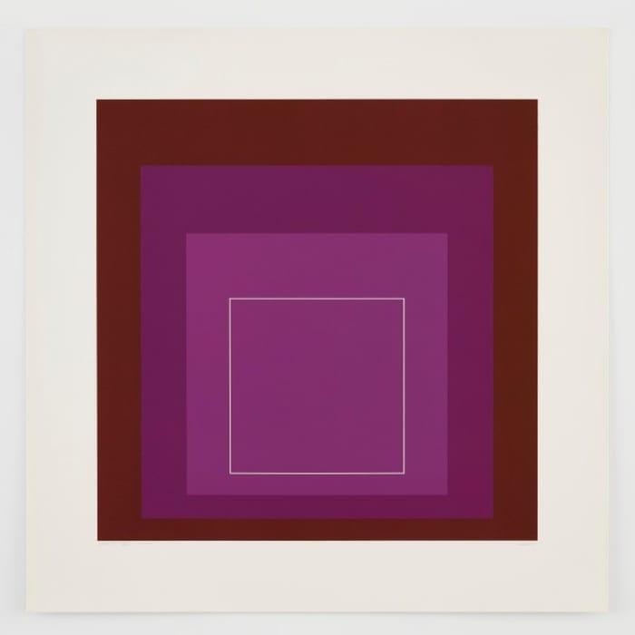 WLS XI by Josef Albers