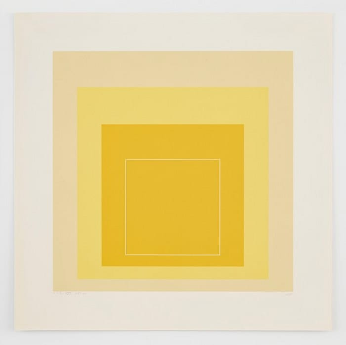 White Line Square XVII by Josef Albers