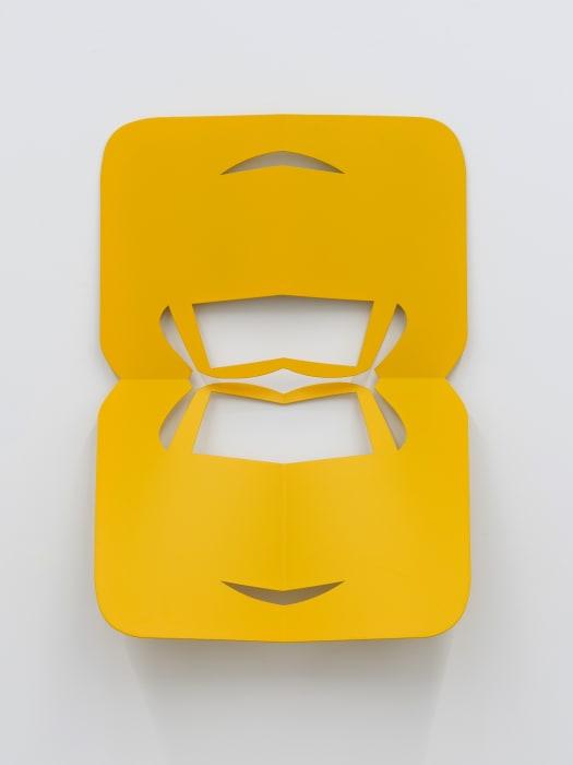 C.Ar.D. Cutout (Melon Yellow) by Matt Keegan