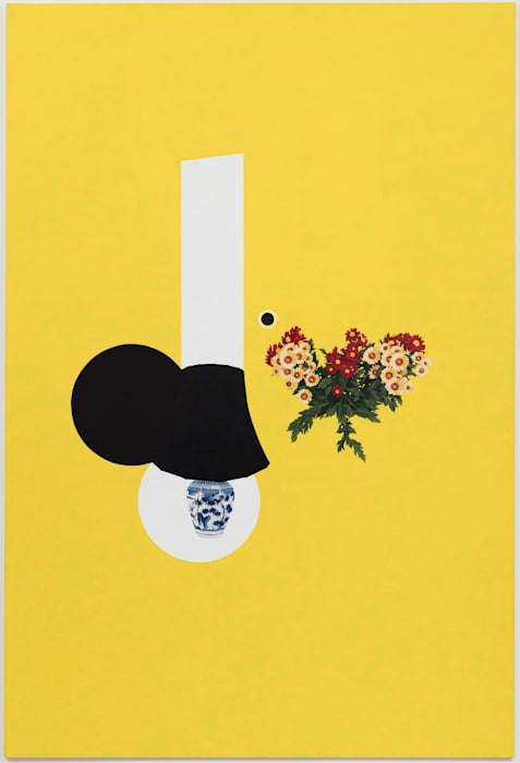 Reception by Patrick Caulfield