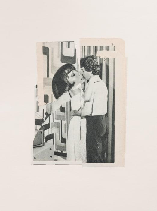 Kiss IX by John Stezaker