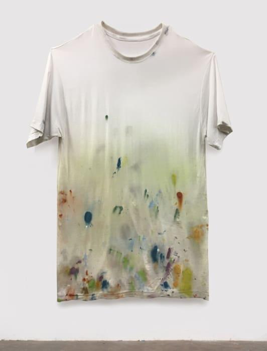 Untitled T-Shirt (WORLD MAP #2) by Amanda Ross-Ho