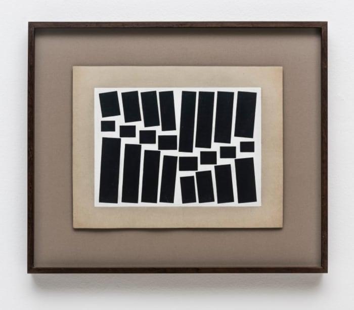 Untitled [Metaesquema series] by Hélio Oiticica