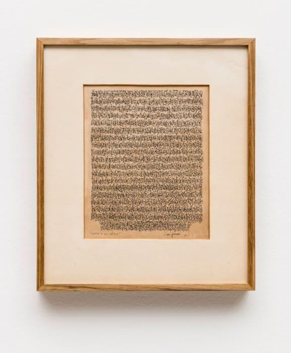 Carta a un Poético by León Ferrari