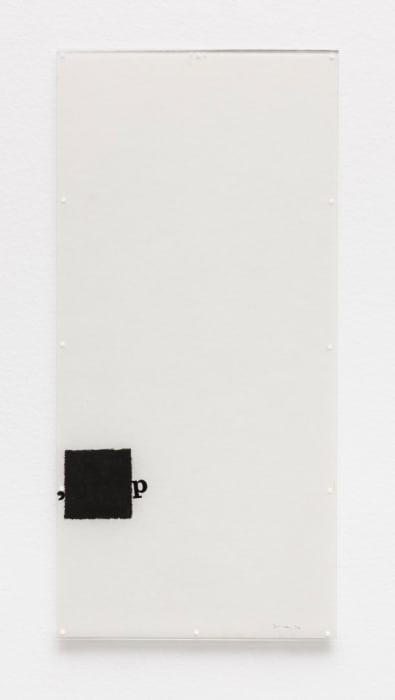 Untitled [Little Stubs series] by Mira Schendel