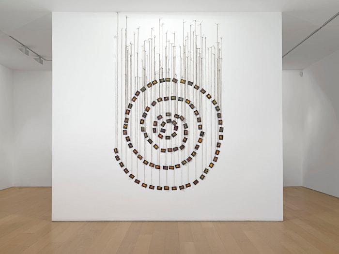La Spirale Amoureuse by Annette Messager