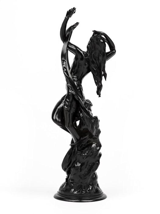 La Lune Rorschach by Wim Delvoye