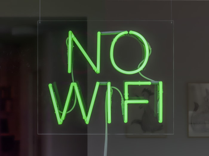 No Wifi by David Shrigley
