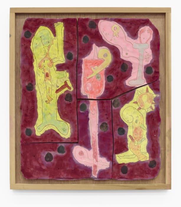 """Embryos and Scraper"" by Richard Hawkins"