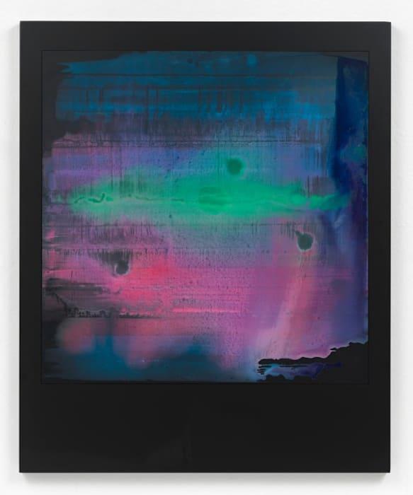 Negative Polaroid Painting #1 by Johannes Wohnseifer