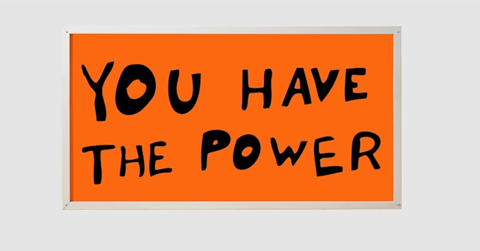 You Have the Power by Sam Durant
