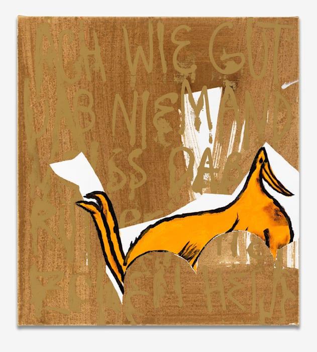 Rumpel Duck by Charline von Heyl