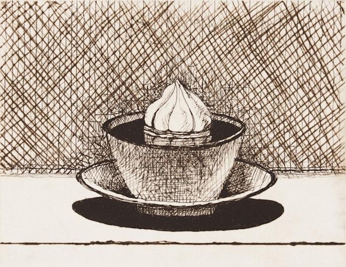 Hot Chocolate by Wayne Thiebaud