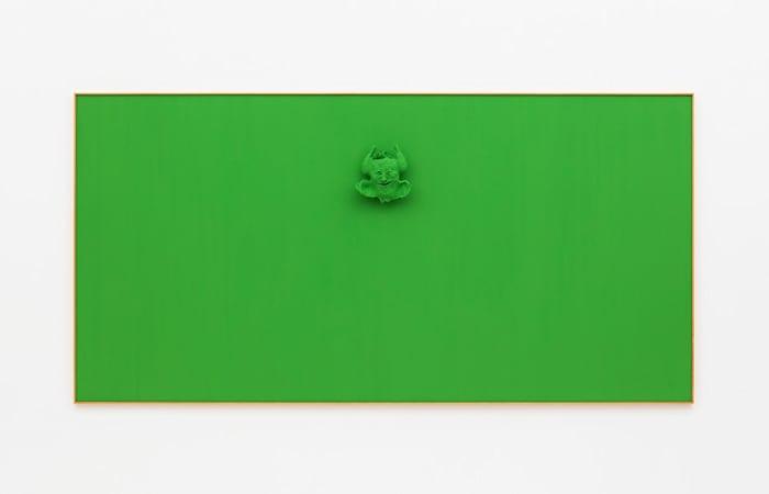 Green Calvin by Calvin Marcus