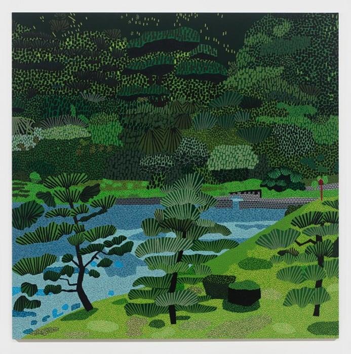 Japanese Garden 2 by Jonas Wood