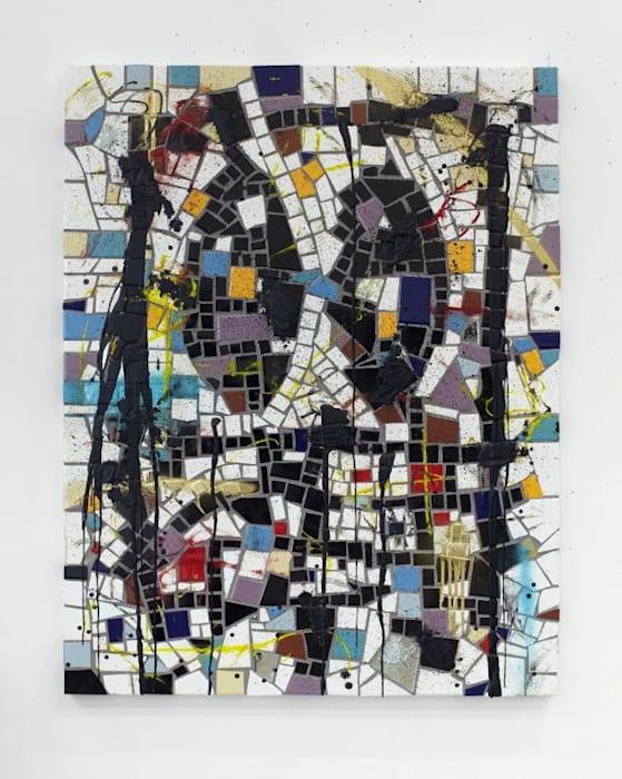 Untitled Broken Men by Rashid Johnson