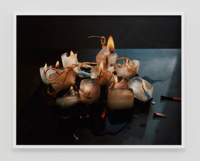 Candles and Cubes by Torbjørn Rødland