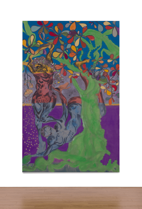 Frogs in the Shade – Echoes of Gray by Chris Ofili