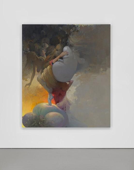 The Big Pileup by Lisa Yuskavage