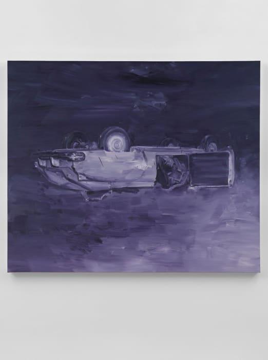 Jackson Pollock, August 11th 1956 - Purple by Yan Pei-Ming